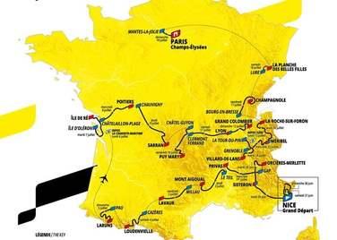 Le Tour de France à proximité du Camping le Casties