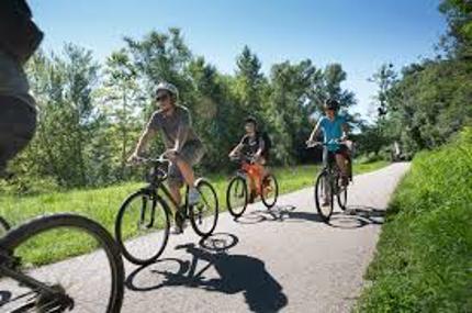 Balades à vélo dans les alentours du Camping Le Casties
